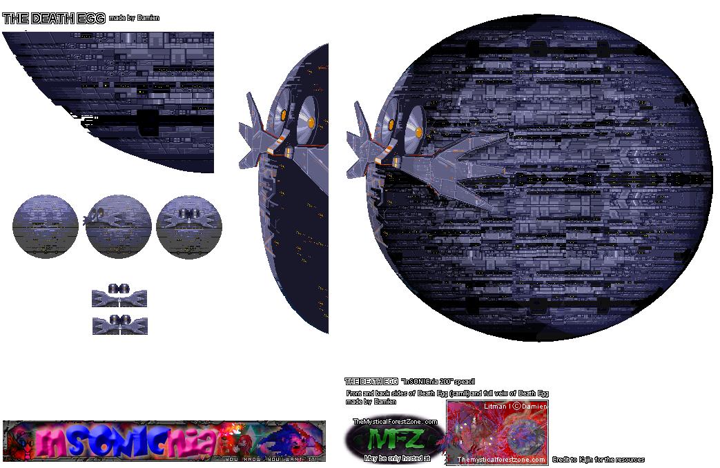 Custom Edited Sonic The Hedgehog Customs Death Egg The Spriters Resource