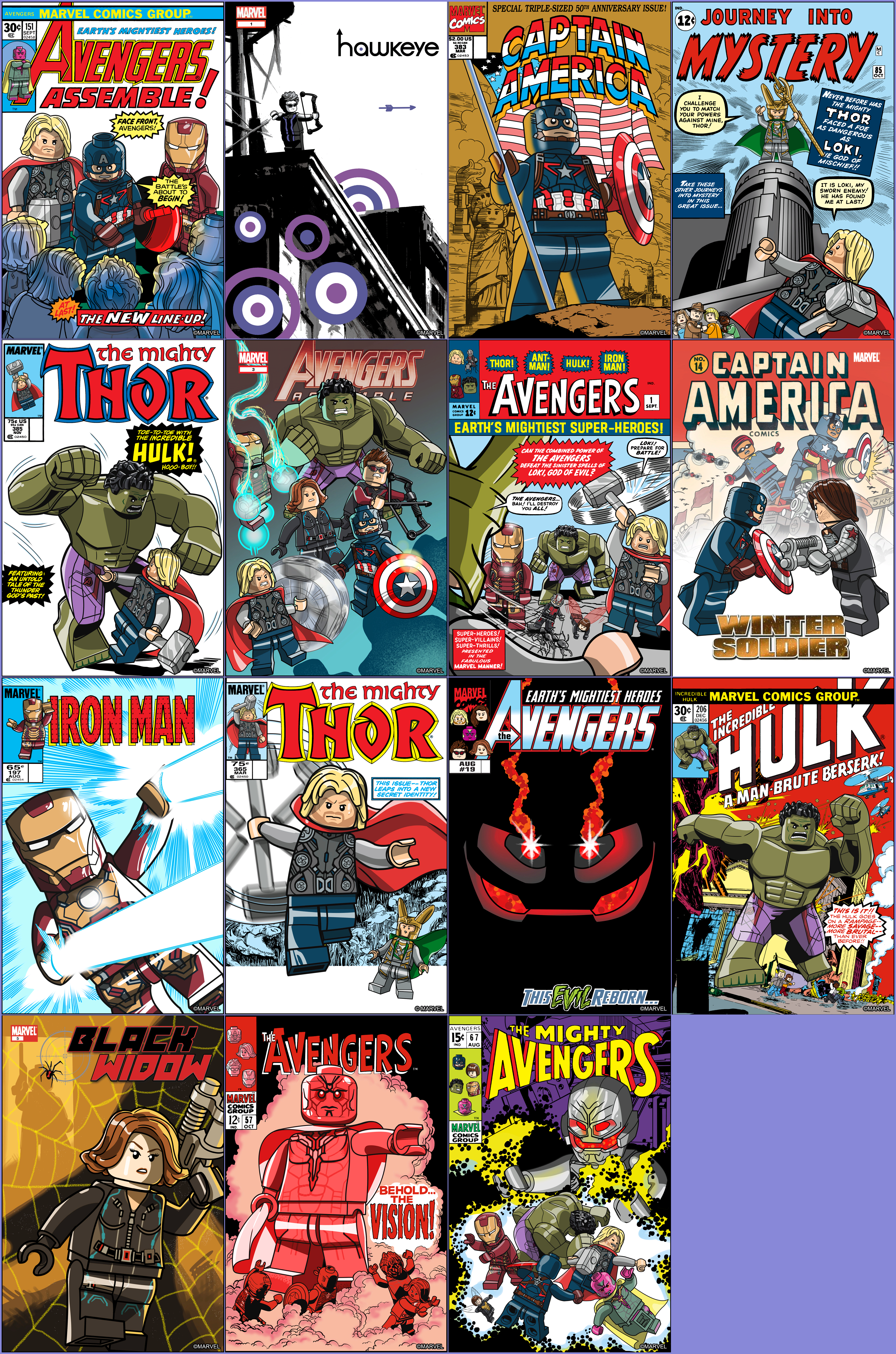 Click For Full Sized Image Comic Covers