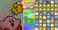 Kirby no Kirakira Kizzu / Kirby's Super Star Stacker (JPN)