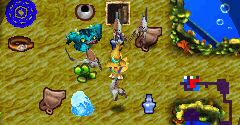 Cid and Chocobo's Mysterious Dungeon: Labyrinth of Forgotten Time DS+