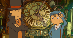 Professor Layton and the Unwound Future in HD