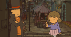 Professor Layton and Pandora's Box in HD