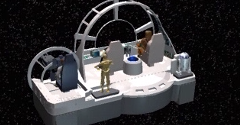 Star Wars: Millennium Falcon CD-ROM Playset