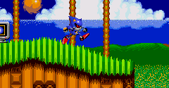 Metal Sonic in Sonic 2 (Hack)