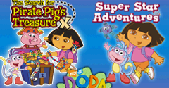 2 in 1: Dora the Explorer Double Pack