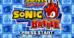 2 in 1: Sonic Advance & Sonic Battle