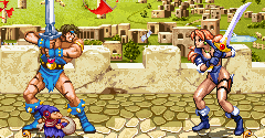 Golden Axe Duel