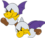 Jr. Troopa (Wings) (Paper Mario Style)
