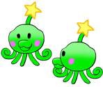 Squirps (Paper Mario-Style)