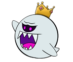 King Boo (Paper Mario-Style)