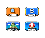 Dream Team Overworld Touch Screen Buttons