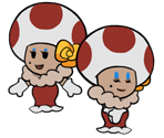 Toodles (Paper Mario-Style)