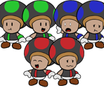 Excess Express Conductors (Paper Mario-Style)