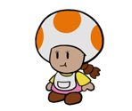 Innkeeper Toadette (Paper Mario-Style)