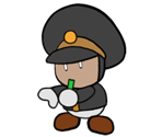 Excess Engineer (Paper Mario Style)