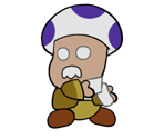 Bartender (Paper Mario-Style)