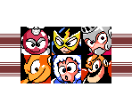 Mega Man 1 Select Screen