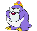 King Monty Mole (Paper Mario-Style, 1 / 2)