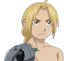 Edward Elric (Shirtless)