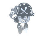 Pirate Cookie (Ghost Pirate)