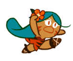 Tiger Lily Cookie (No Spear)