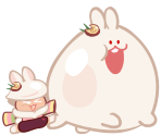 Moon Rabbit Cookie