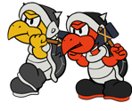 Army Hammer Bro (Paper Mario-Style)
