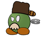 Fahr Outpost Mayor (Paper Mario-Style)
