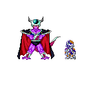 King Cold and Mecha Frieza