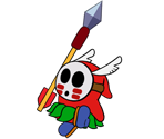 Spear Guy (Paper Mario Style)