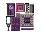 Ghost House Tileset