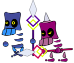 Skellobits (Paper Mario-Style)