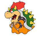 Bowser (Paper Mario-Style, 2 / 2)