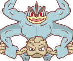 Machamp, Geodude, Controls and Gauges