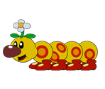 Wiggler (Paper Mario-Style)