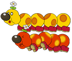 Wiggler (Paper Mario-Style, Modern, 2 / 2)