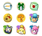 Character & Question Icons
