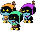 Eve's Kids (Paper Mario-Style)