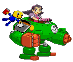 Tron Bonne and Servbot