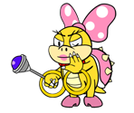 Wendy O. Koopa (Paper Mario-Style)