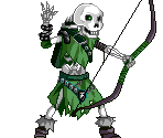 Green Skeleton Archer