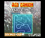 Red Canyon - Barrel Roll