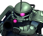 Zaku II High Mobility Type (Commander)