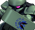 Zaku I Early Type (Midnight Fenrir)