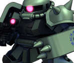 Zaku II (Midnight Fenrir)