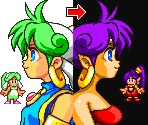 Shantae (Monster World 4 Style)