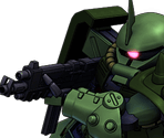 Zaku II FZ (Commander Type)