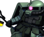 Zaku II F2 (Commander Type)