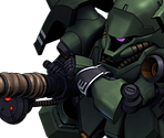 Geara Doga (Heavy Armed Type) [Sleeves]