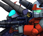Core Fighter - Guncannon - Guntank